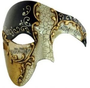 Kayso Black Phantom Mask Black