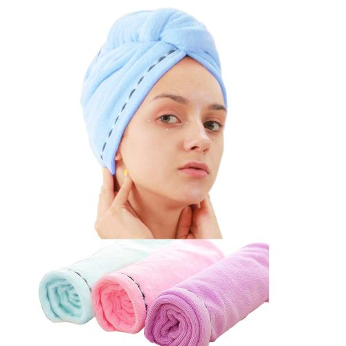 3 Pack Microfiber Hair Towel Wrap BEoffer Super Absorbent