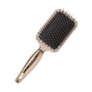 Foxy Bae Paddle Hair Brush - Detangling Hair Brush with Soft Nylon Bristles - Hair Volumizer Styling Brush - Creates a Smooth & Shiny Look - Ideal for...