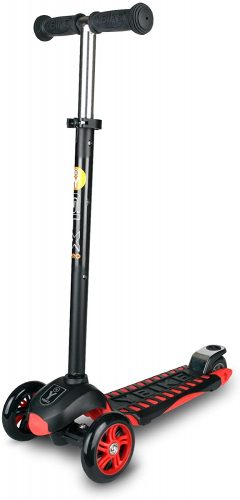 Ybike GLX Pro Scooter (Black/Red, 12 cm)