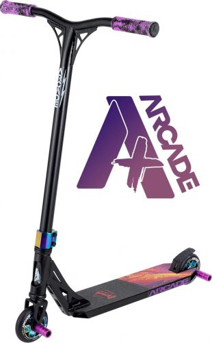 Arcade Pro Scooters Plus Stunt Scooter for Kids 10 Years and Up - Perfect for Intermediate Boys and Girls - Best Trick Scooter for BMX Freestyle Tricks