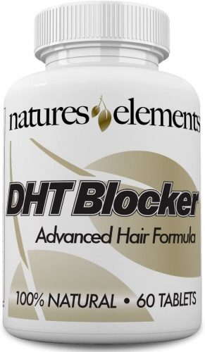DHT Blocker for Hair Growth and Gray Hair - Unique DHT Blocking Vitamin and Herbal Formula for Hair Regrowth and Gray Hair with He Shou Wu - for Men and...