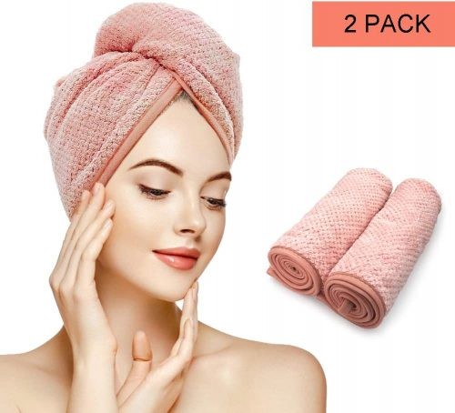 Gepege 2 Pack Hair Towel Wrap