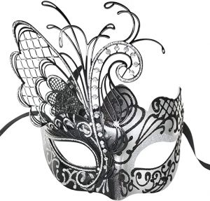 Masquerade Mask for Women Venetian Mask