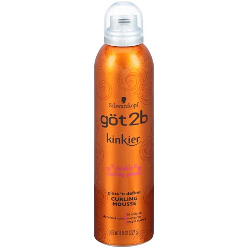 Got2B Fat-tastic Thickening Plumping Hair Mousse, 8 Ounce