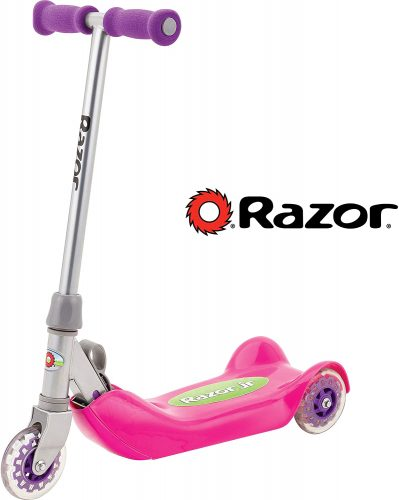 Razor 13015061 Razor Jr. Folding Kiddie Kick Scooter, Pink