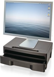 Officemate 2200 Series Executive Monitor Stand