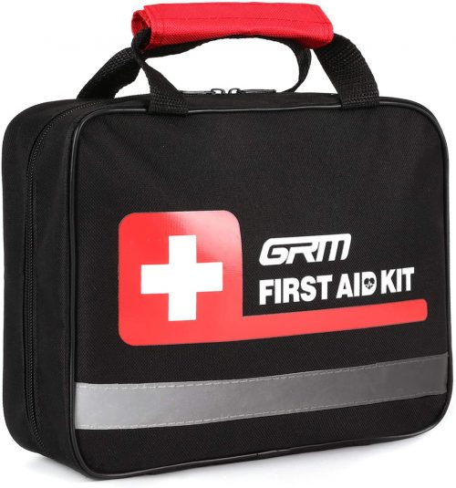 GRM Upgraded 465 Pieces First Aid Kit for Businesses Emergency