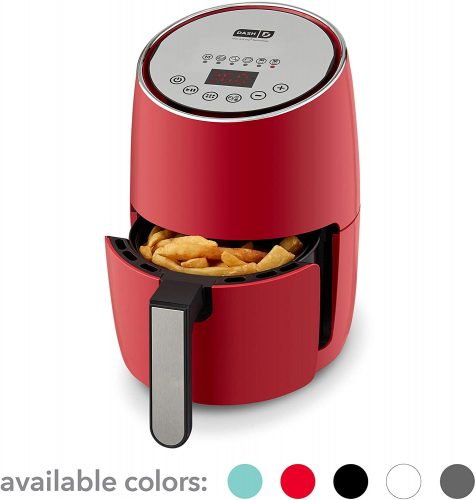 DASH Compact Electric Air Fryer + Oven Cooker with Digital Display