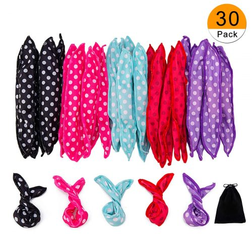 30 Pieces Hair Curler Rollers