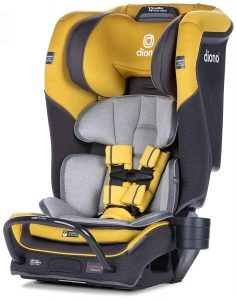Diono Radian 3QX Latch, All-in-One Convertible Car Seat