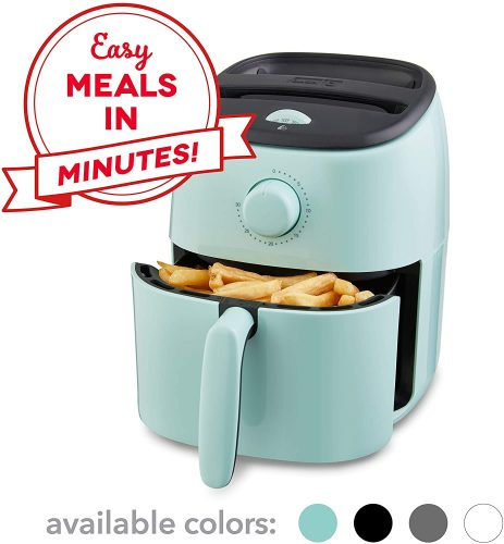 Dash DCAF200GBAQ02 Tasti Crisp Electric Air Fryer + Oven Cooker with Temperature Control