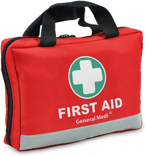 First Aid Kit -309 Pieces- Reflective Bag Design