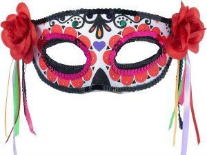Amscan Day of the Dead Masquerade Mask