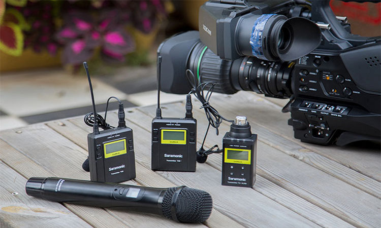 Wireless Microphones for Camera