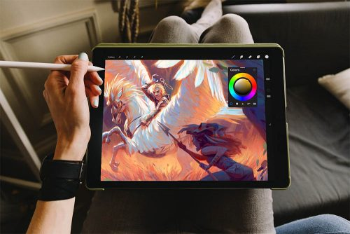 How to draw on your tablet?