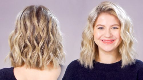 How to Curl Your Short Hair Quick and Easy?