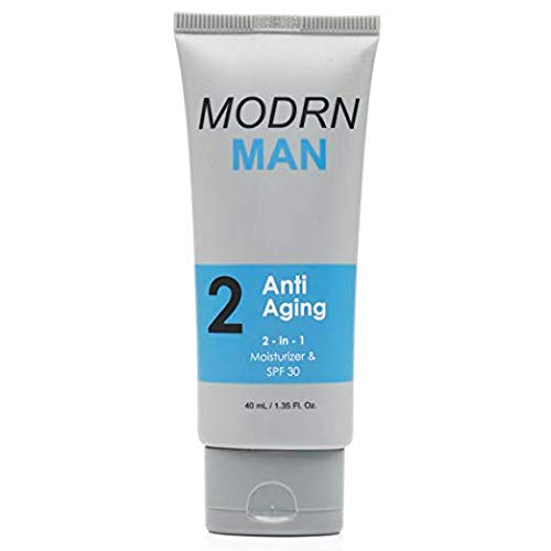 MODRN MAN All-in-One Anti Aging Men's Face Moisturizer with SPF