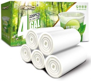 FORID Clear Small Trash Bags