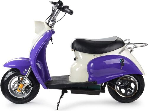 MotoTec 24v Electric Moped Scooter