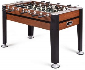 """GYMAX 54"""" Football Table Indoor Soccer Game Table"""