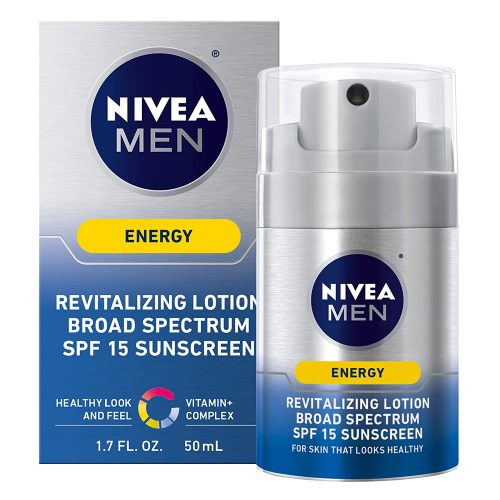 NIVEA Men Energy Lotion Broad Spectrum SPF 15 Sunscreen