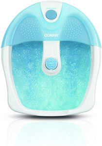 Conair Foot Spa/Pedicure Spa with Bubbles and Pinpoint Massage