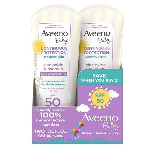 Aveeno Baby Continuous Protection Zinc Oxide Mineral