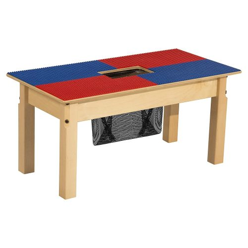 Time-2-Play Lego Compatible Rectangular Table