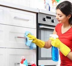how to clean your kitchen cabinet