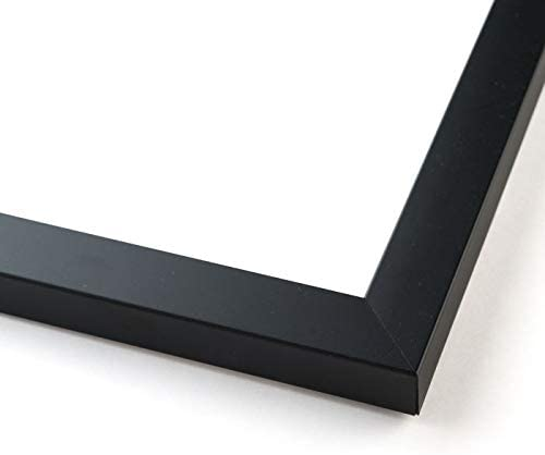 40 x 30 Black Wood Picture Frame
