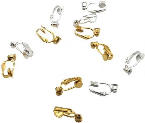 Zpsolution 12 Pieces Clip on Earrings