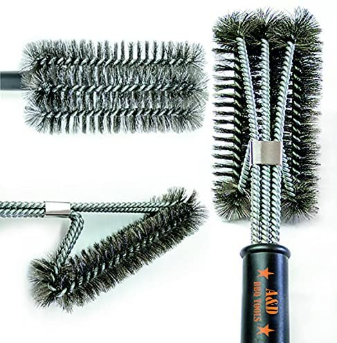 A&D BBQ Grill Brush Cleaner