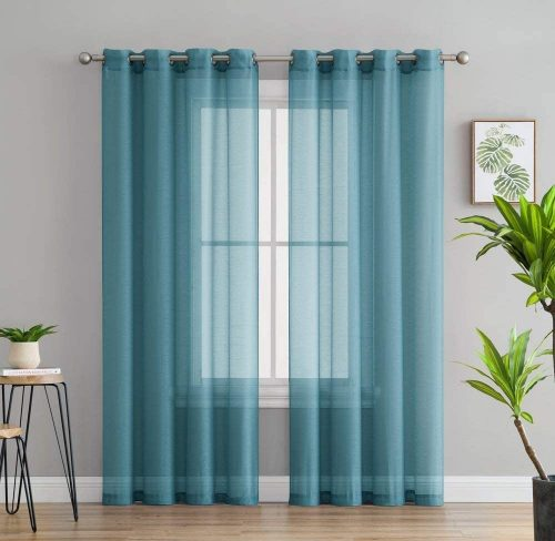 HLC.ME Semi Sheer Curtains