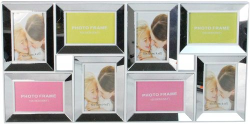 Northlight Mirrored Collage Picture Frame