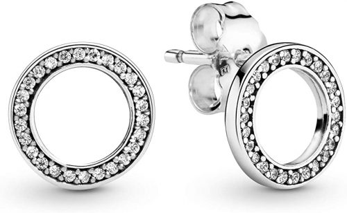 Pandora Jewelry Forever Pandora Cubic Zirconia Earrings
