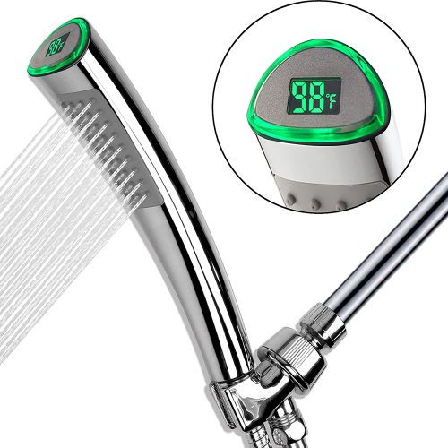 YOO.MEE LED Thermometer Shower Heads
