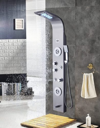 ELLO&ALLO Shower Panel Tower System