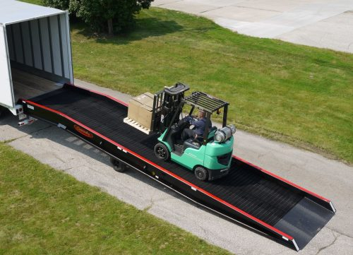 How long should truck ramps be
