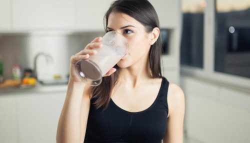 What happens if you drink a protein shake without working out?