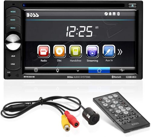 Boss Audio Systems BVB9351RC Multimedia Player