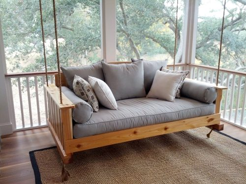 What is the Best Way to Hang a Porch Swing?