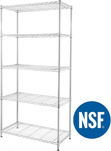 eeZe Rack Wire Shelving Closets