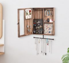 Wall Mounted Jewelry Cabinets