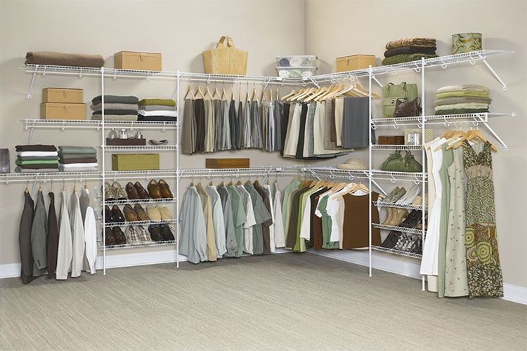 Wire Shelving Closets