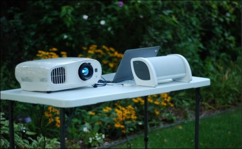 Simple steps to setting up a projector