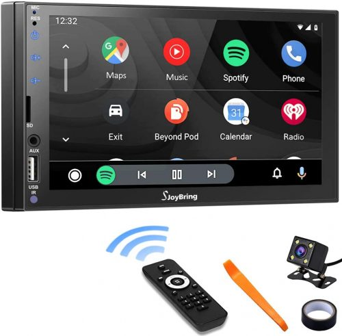 Car Stereo Compatible with Apple Carplay and Android Auto