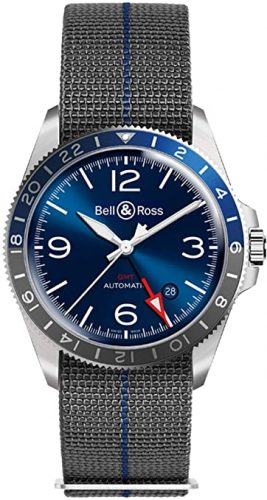 Bell and Ross BR V2-93 GMT Blue Watch